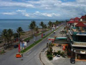 Lasuah, Tempat Jalan Kaki Di Pantai Padang Hampir Selesai