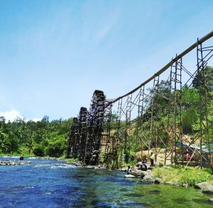 Wisata Rancak, Kincir Air di Padang Data Simawang